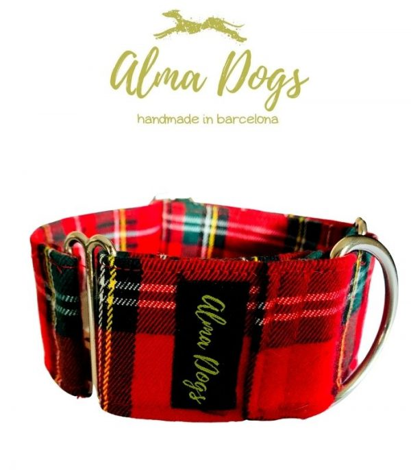 collar martingale para galgo escoces