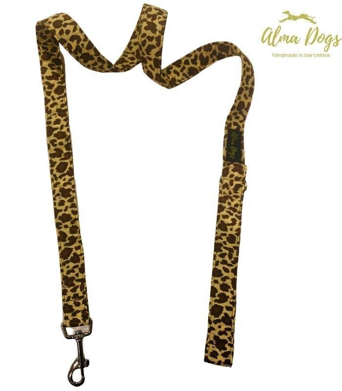 correas para galgos leopardo