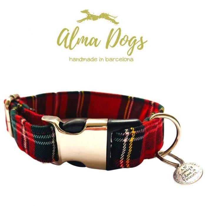 collar para perros escoces